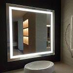 Acrylic Frameless Backlit Mirror